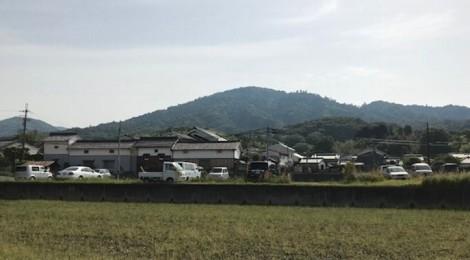 5月の三輪山