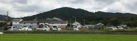 8月の三輪山