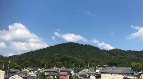 9月の三輪山