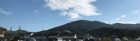 10月の三輪山