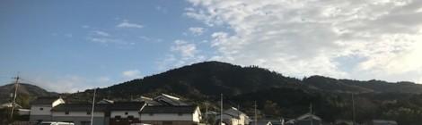 12月の三輪山
