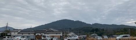 3月の三輪山