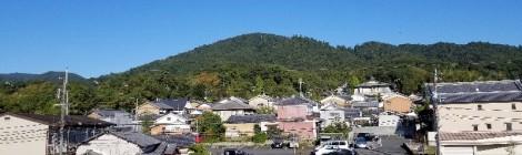 11月の三輪山