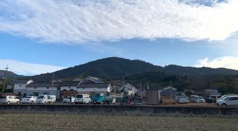 2月の三輪山